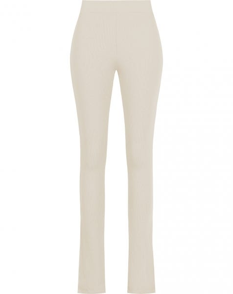 HOLLY SPLIT LEGGING BEIGE