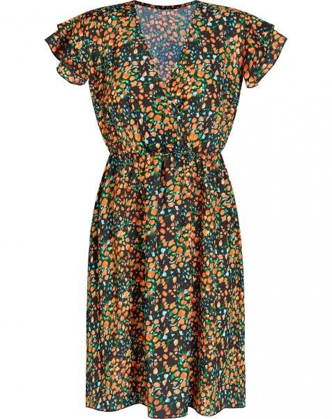 BELLA RUFFLE DRESS FLOWERS