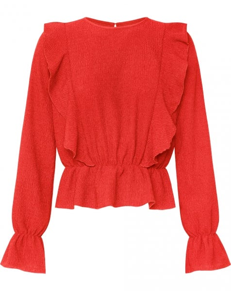 MILLIE TOP RED