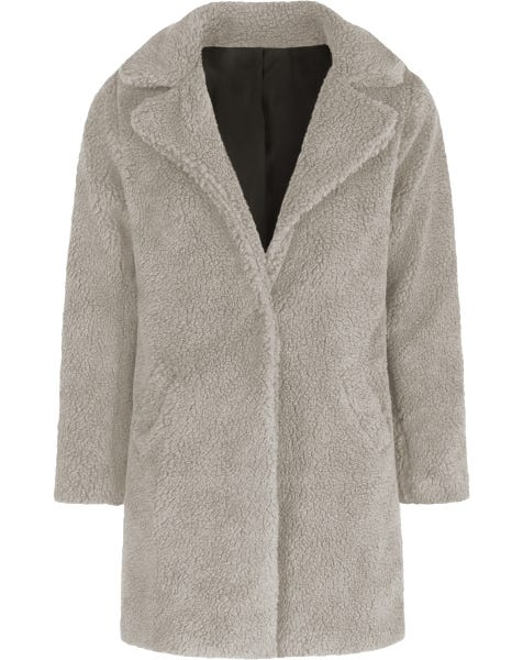 JULIETTE COAT LIGHTGREY