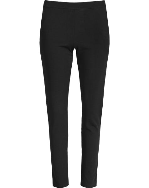 JESSY TROUSERS PLAIN BLACK