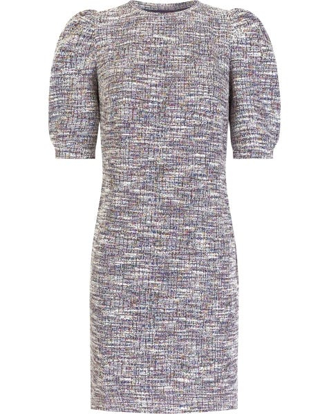 BOUCLE DRESS LILA