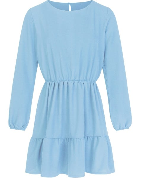 PERFECT LIGHT BLUE DRESS