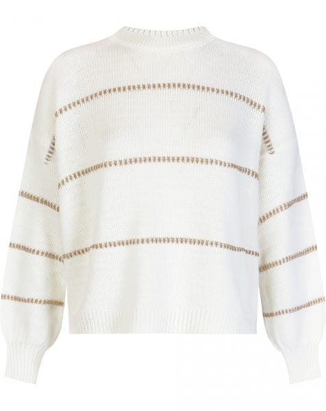 GOLDEN TOUCH KNIT CREAM