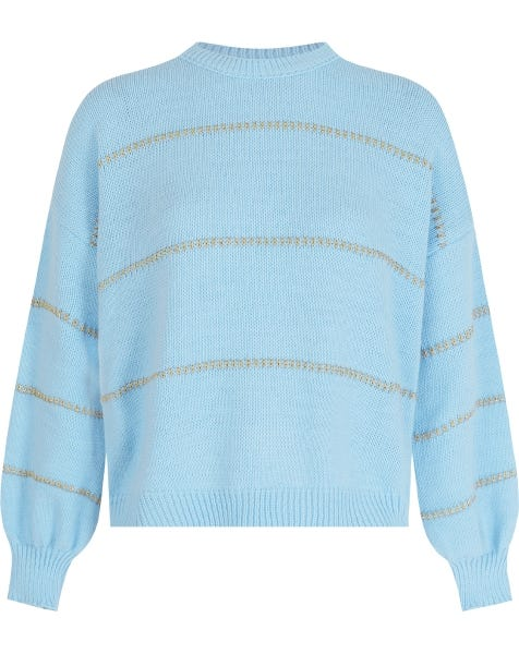 GOLDEN TOUCH KNIT LIGHTBLUE