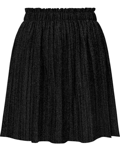 JESS GLITTER SKIRT BLACK