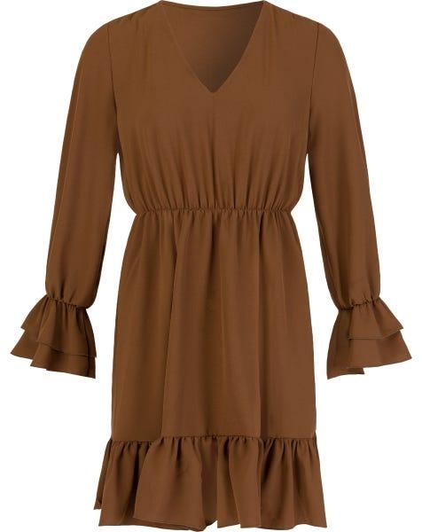 JOELIA DRESS CAMEL