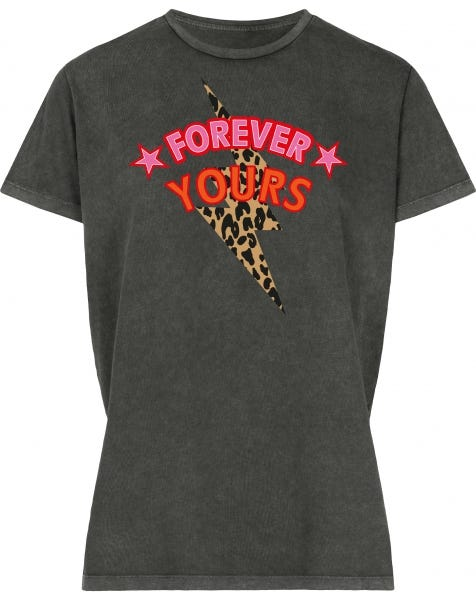 FOREVER YOURS TEE GREY