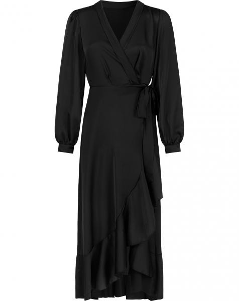 JADEY MIDI DRESS BLACK