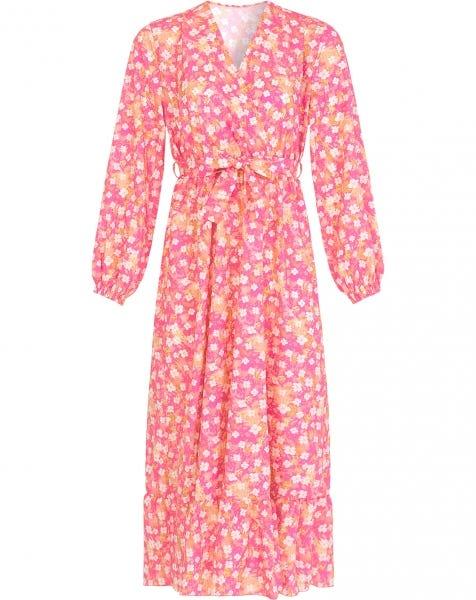 OLIVIA FLOWER DRESS PINK