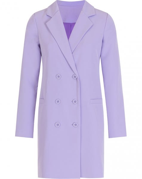 OLIVIA BLAZER DRESS LILA