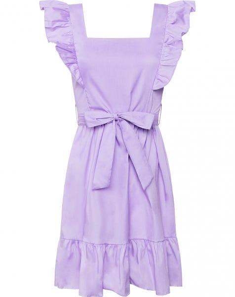 MILEY POPLIN DRESS LILA