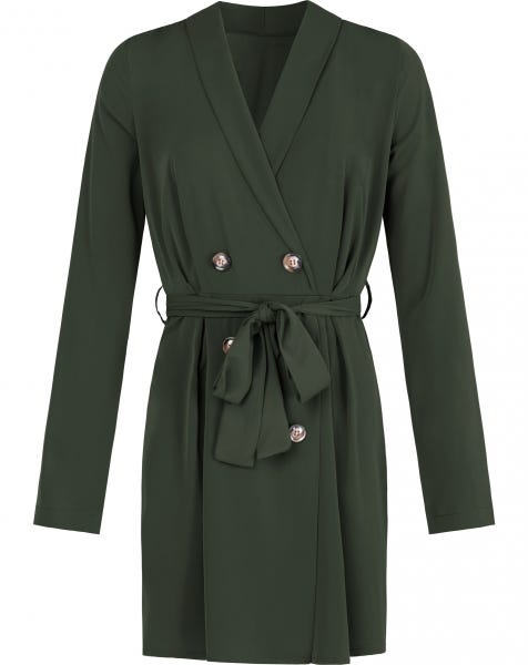 LISS BLAZER DRESS ARMY