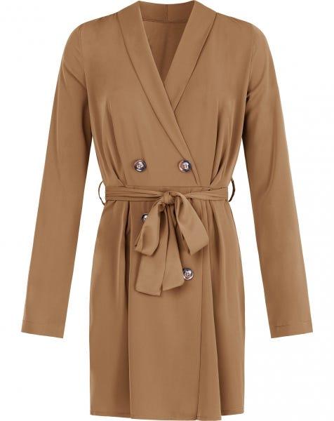LISS BLAZER DRESS CAMEL