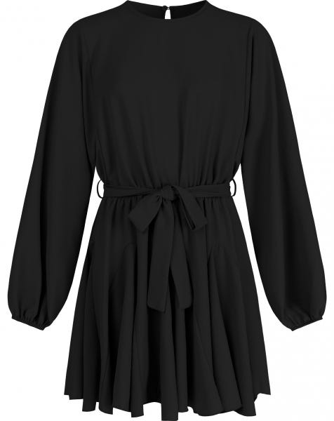 KADIA DRESS BLACK
