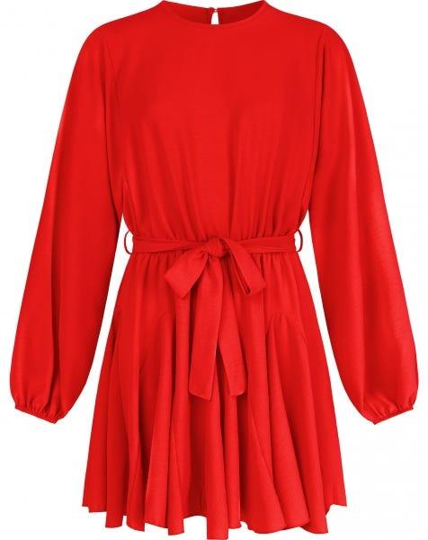 KADIA DRESS RED