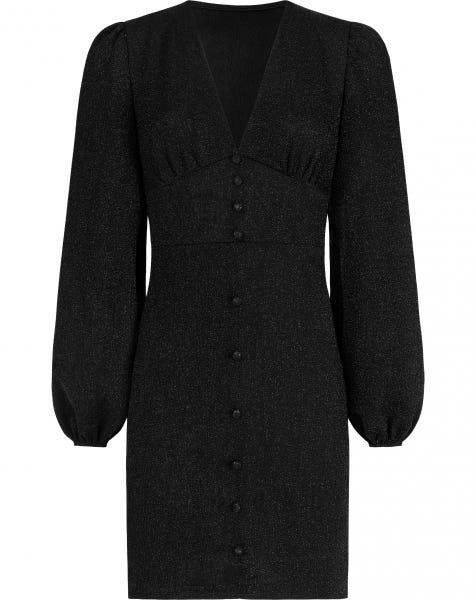 DORI GLITTER DRESS BLACK