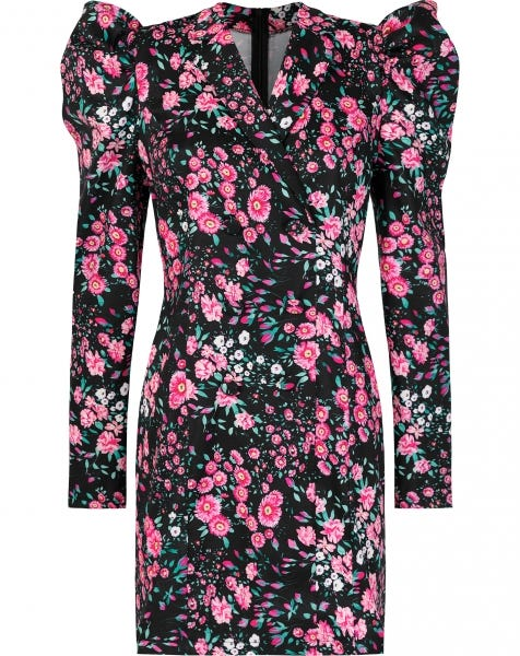 FLOWER BLAZER DRESS