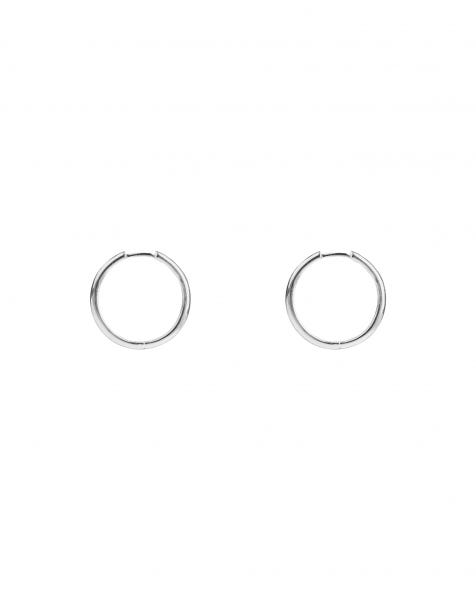 RING-A-LING HOOPS 19.50MM SILVER