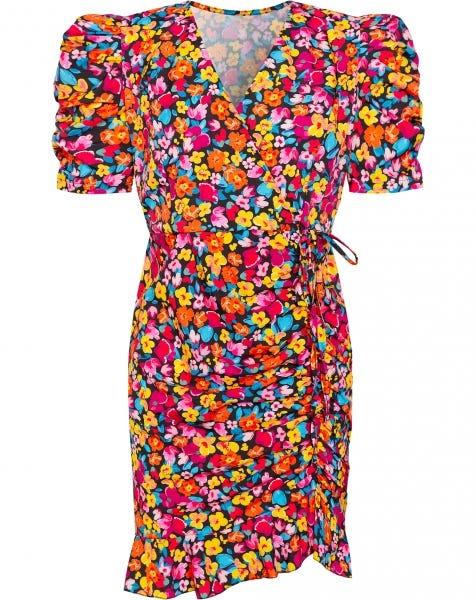 PHILINE DRESS FLOWERS