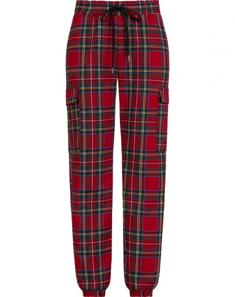CHRISSY CHECK TROUSERS