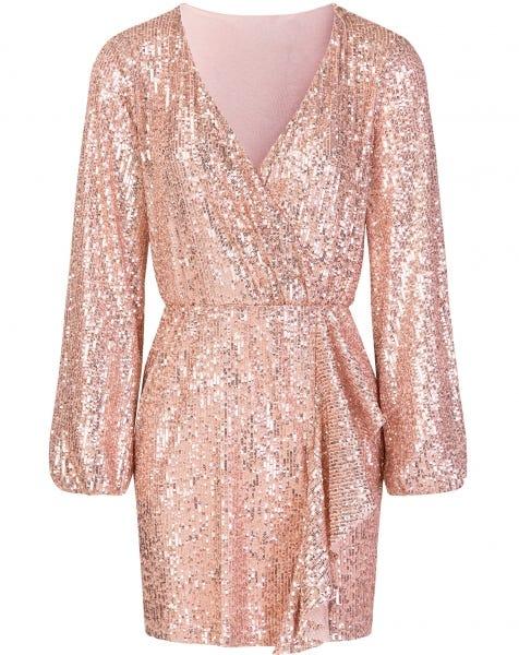 SPARKLE DRESS ROSE