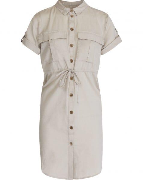 HIRAM SHIRT DRESS SAND