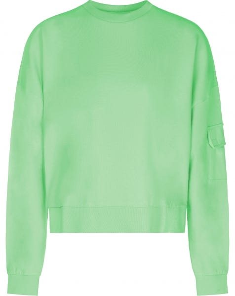 POCKET SWEAT PULLOVER GREEN