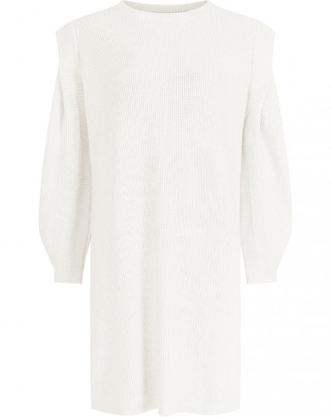KYLIE KNIT DRESS CREAM