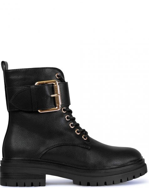 ROSE BOOTS BLACK GOLD