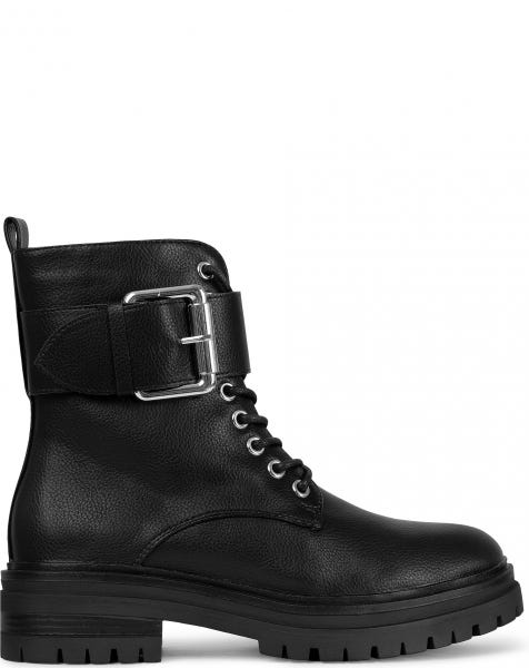 ROSE BOOTS BLACK SILVER