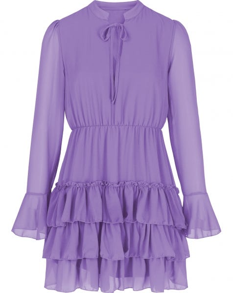 ELLE DRESS LILA
