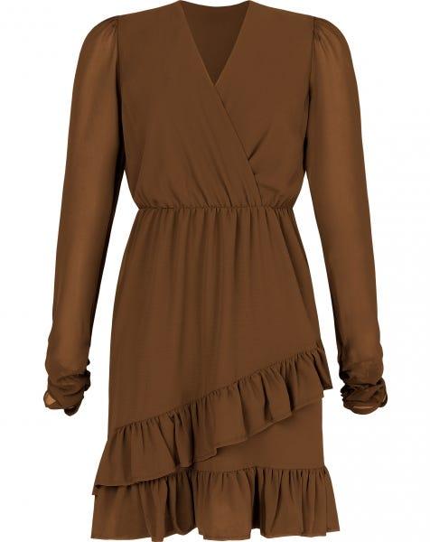 MILA DRESS CAMEL
