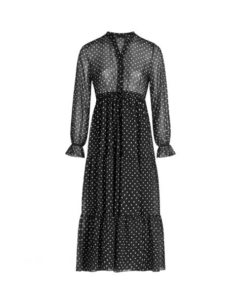 GIGI MAXI DOTS DRESS