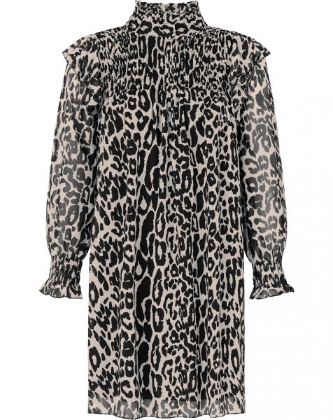 LIZZY LEOPARD DRESS