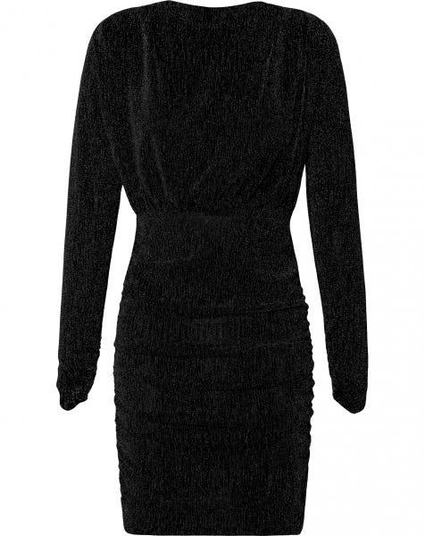 JOSH GLITTER DRESS BLACK