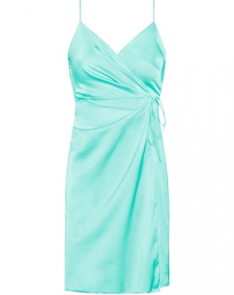 LEILA DRESS BLUE