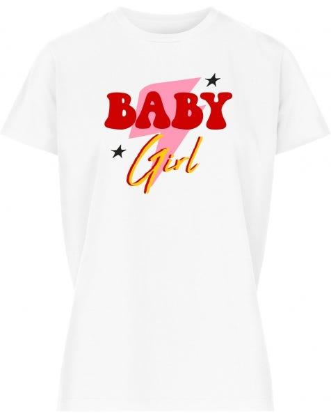 BABY GIRL TEE WHITE