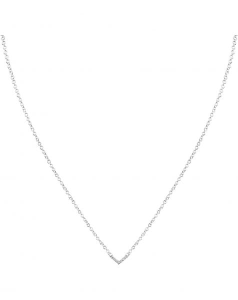 AIN'T YOUR MAMA NECKLACE SILVER