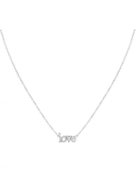 PS I LOVE YOU NECKLACE SILVER