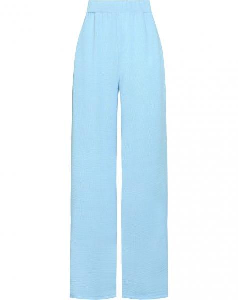 MELA WIDE PANTS BLUE