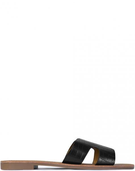 CASSY SLIPPERS BLACK