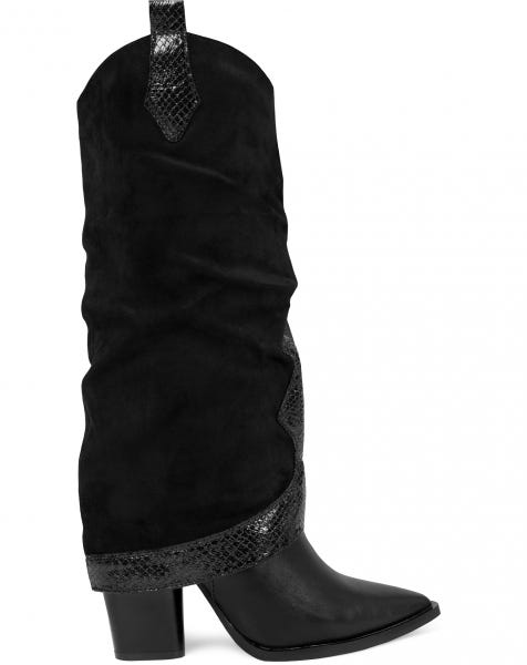 AISA BOOTS BLACK