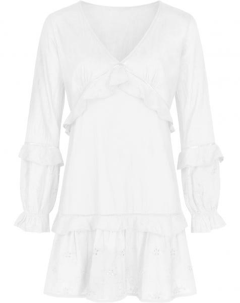 DREAMY LACE DRESS WHITE