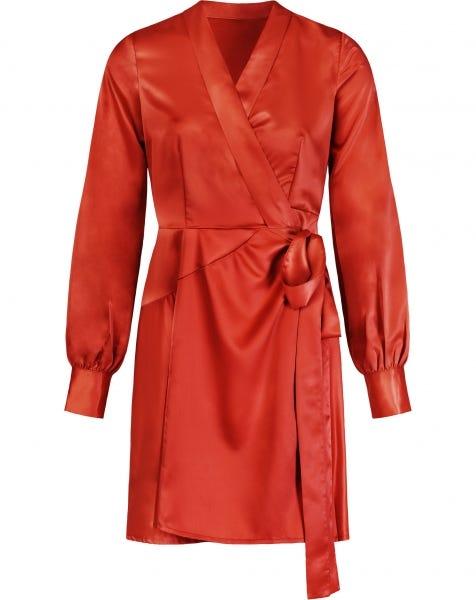 FAIRYTALE DRESS DEEP ORANGE