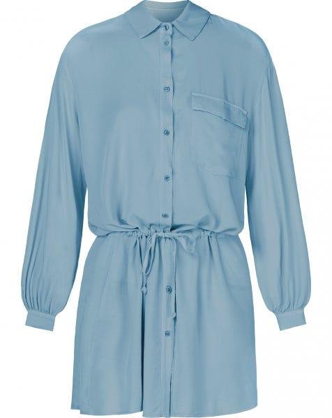 CASEY BLOUSE DRESS BABYBLUE