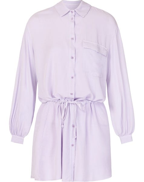 CASEY BLOUSE DRESS LILA