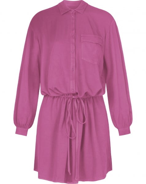 CASEY BLOUSE DRESS PINK