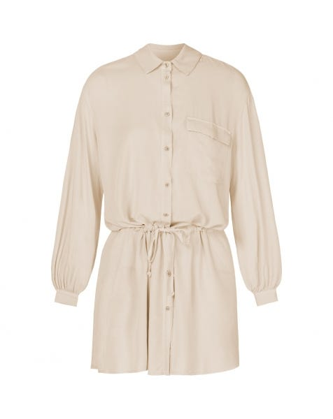 CASEY BLOUSE DRESS SAND