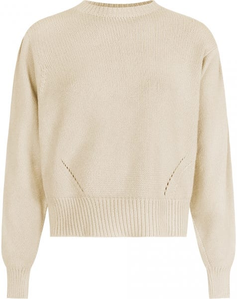 MILA KNIT ALMOND
